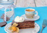 Domáca Sacherova torta podľa cukrárky Lucie