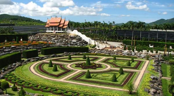 Nong Nooch tropická záhrada