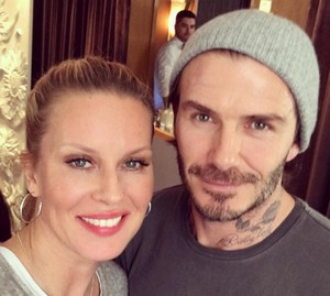simona krainová a david Beckham