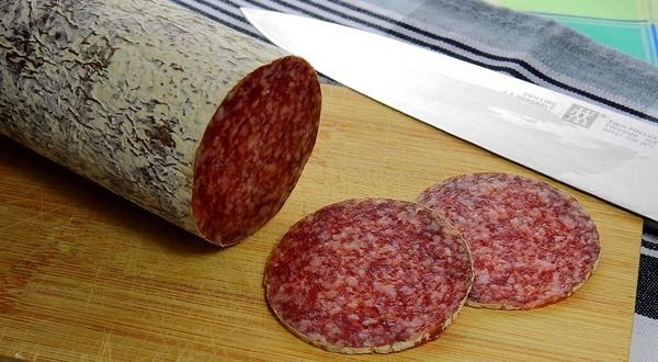čerstvé mäso - saláma