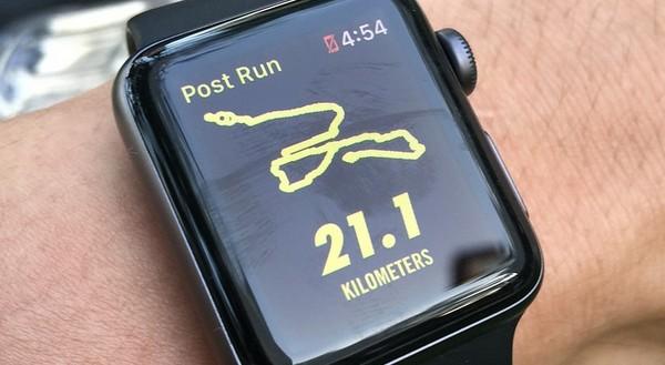 aplikácie na behanie apple watch