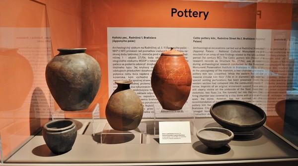 Kelti z Bratislavy: Výrobky keltských hrnčiarov