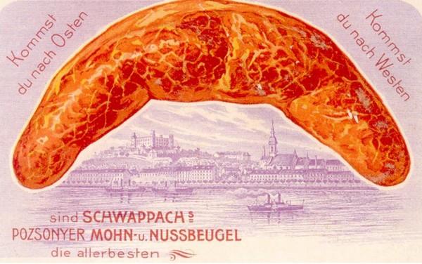 Reklamná pohľadnica, okolo roku 1910. Zdroj: Július Cmorej.