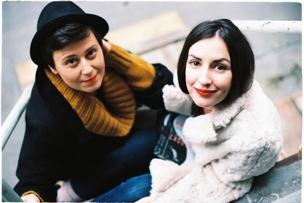 Tamara Šimončíková Heribanová a Petra Hilbert