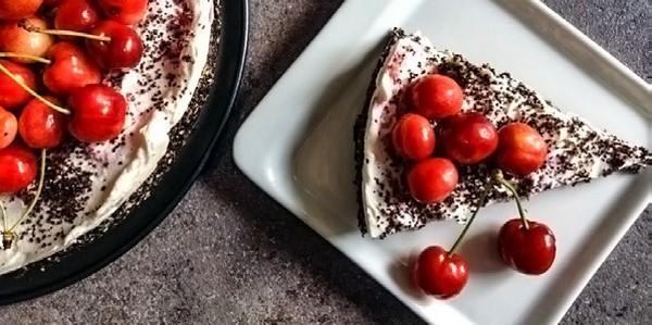 torta s čerešňami