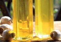 Makový olej. Na kĺby, do šalátov ajna šúľance