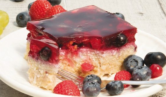 pšenovo-tvarohový koláč