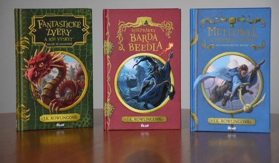 rowlingová 3 knihy pomáhajú deťom