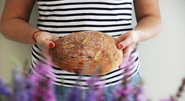 lenka mančáková a kváskový chlieb