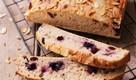 kváskový chlieb s čučoriedkami