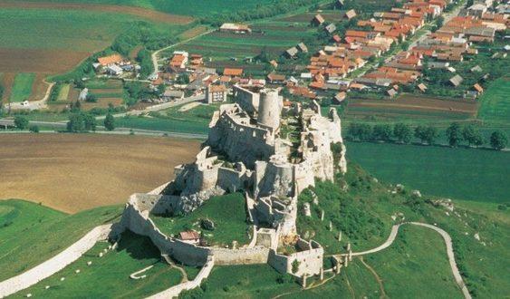 slovenské klenoty UNESCO Spišský hrad