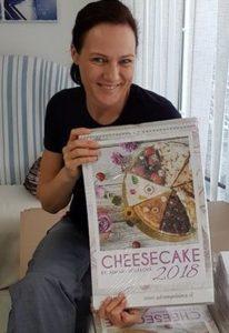 Adriana Poláková Kalendár Cheesecake 2018