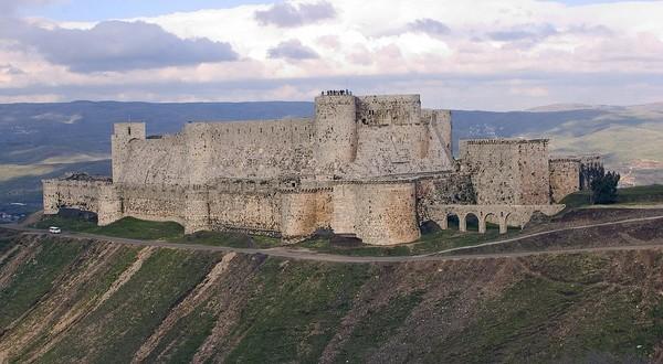 Krak des Chevaliers v Sýrii
