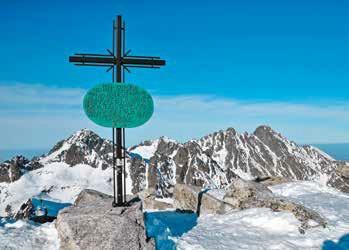 slavkovský štít vrchol kríž