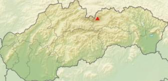 mapa Slavkovský štít