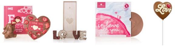 valentínske darčeky sladkosti