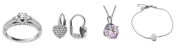 valentínske darčeky šperky