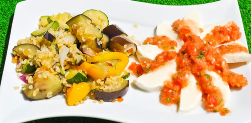 bulgur zelenina
