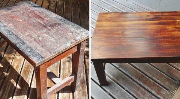 opravte si starý nábytok