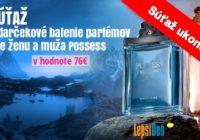 SÚŤAŽ odarčekové balenie parfémov Possess vhodnote 76€