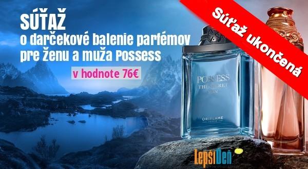darčekové balenie parfémov Possess