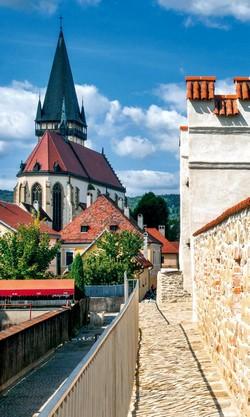 Bardejov a Kostol sv. Egídia