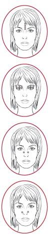 masáž šiacu na uvoľnenie nosa