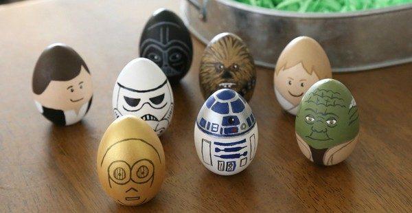 veľkonočné vajíčka star wars