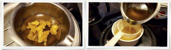 recept harmančeková masť