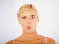 gymnastika tváre - cvik 8