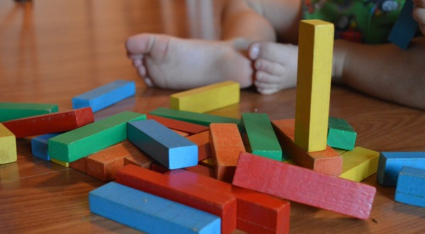 Montessori metóda kocky