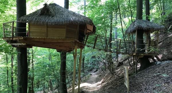 Trenčianske Teplice treehouse