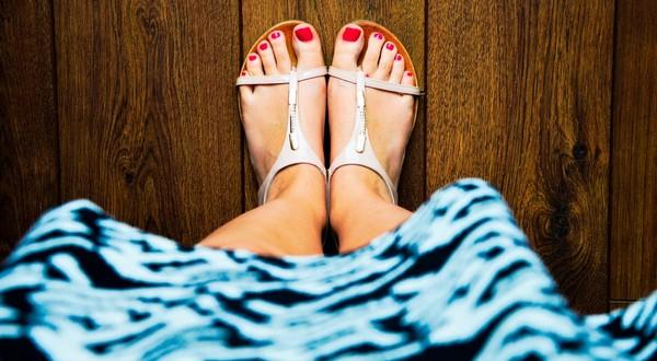 starostlivosť o nohy hebké chodidlá