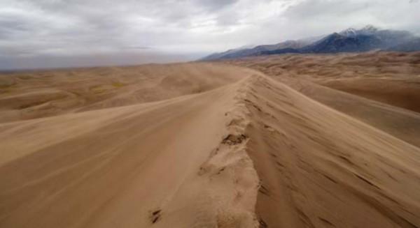 planéta Zem great sand dunes
