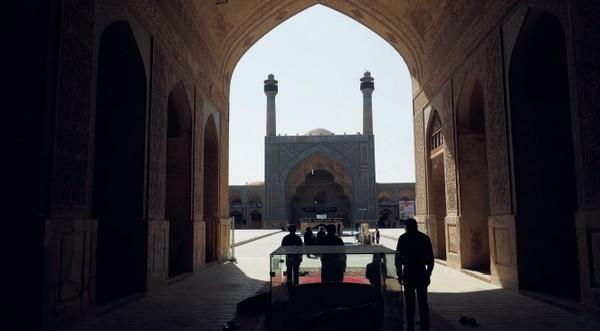planéta Zem mešita v Iráne