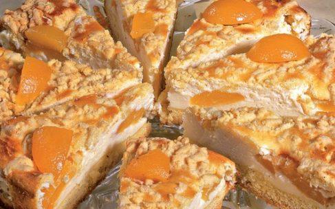 Marhuľový koláč stvarohom