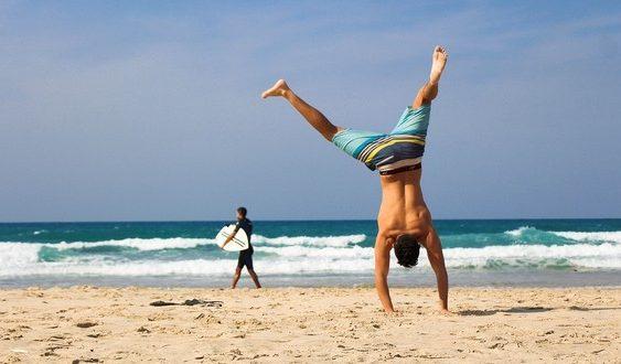 šport na dovolenke