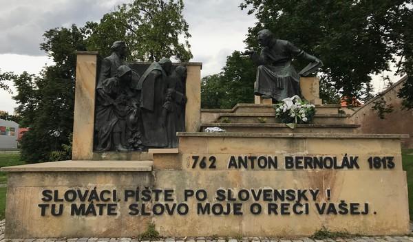 Trnava pamätník Bernoláka