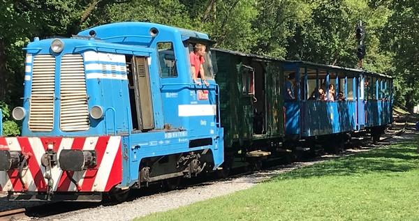 Detská železnica Košice Čermeľ