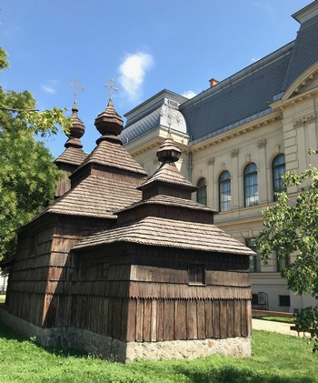 drevený kostolík Košice