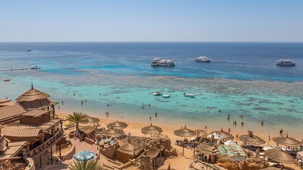 egypt pláže a more