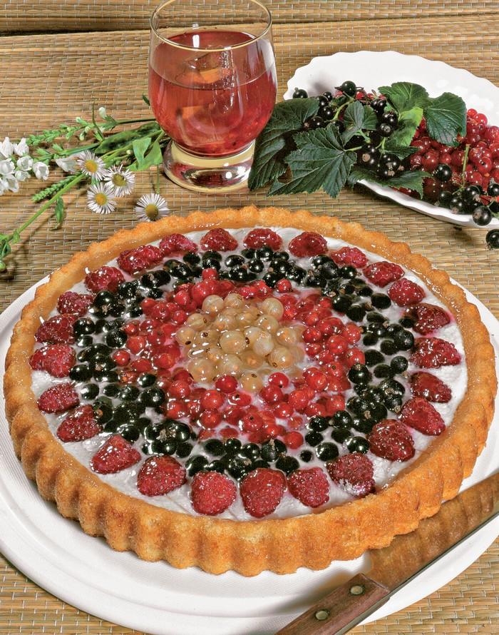 koláč z letného ovocia