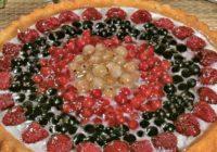 Tvarohový koláč z letného ovocia | RECEPT