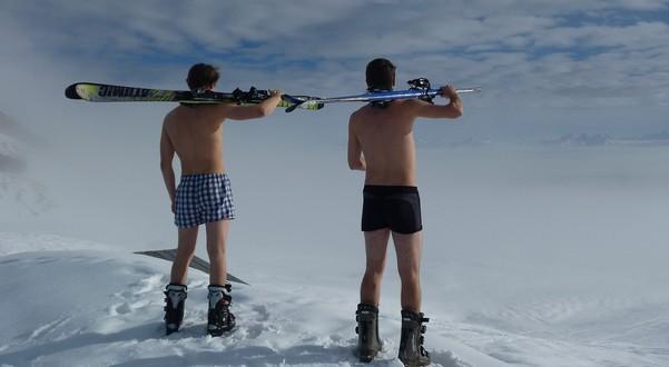 lyžovanie v lete
