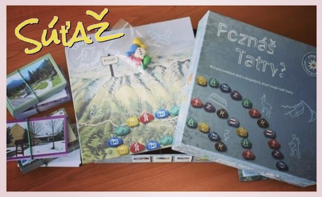 súťaž o hru Poznáš Tatry?