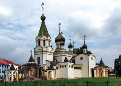 Prešov Chrám sv. Alexandra Nevského