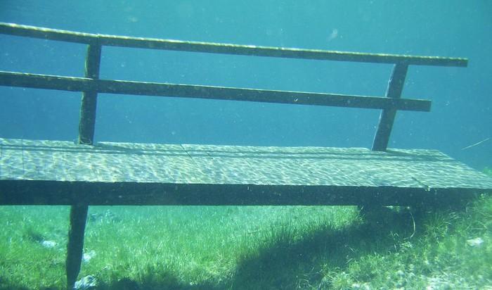 Gruner See Rakúsko podvodný park