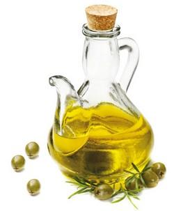 olivový olej vo fľaške
