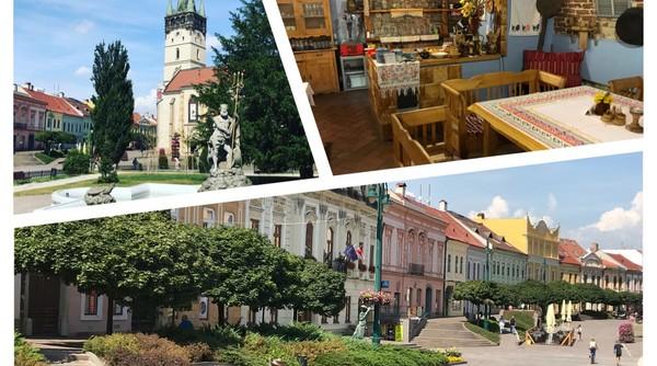 Prešov prechádzka po meste
