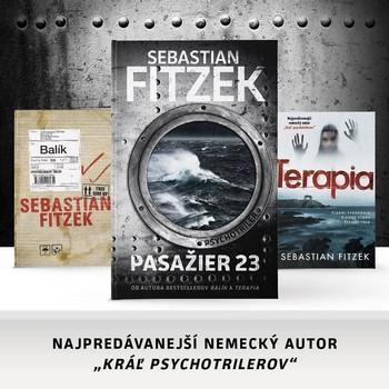 Sebastian Fitzek knihy Pasažier 23, Terapia a Balík